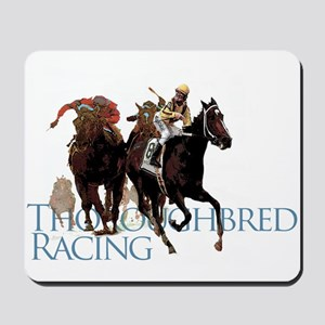 Thoroughbred Racing Mousepad