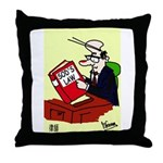 Sole Practitioner's Throw Pillow