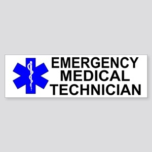 Emergency Medical Technician Sticker (Bumper)