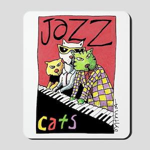 Jazz Cats Mousepad