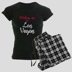 Las Vegas Women's Dark Pajamas