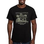 Las Vegas Men's Fitted T-Shirt (dark)