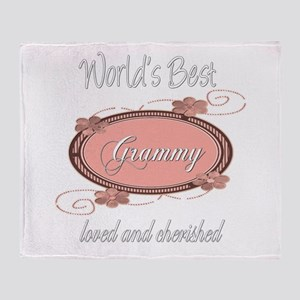 Cherished Grammy Throw Blanket