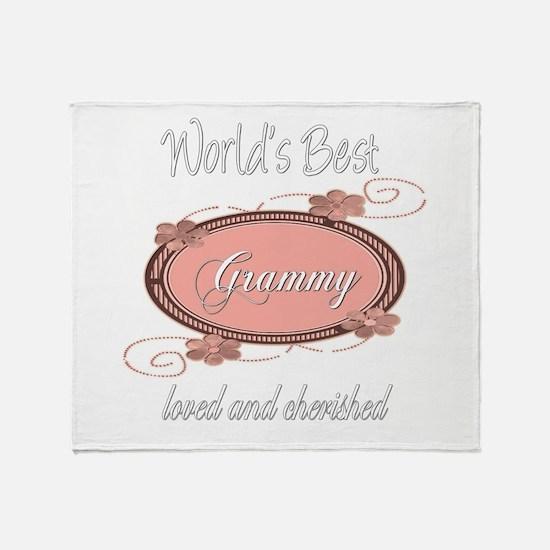Cherished Grammy Throw Blanket