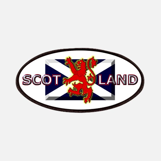 Scotland Football Fashion Patches
