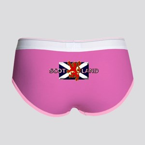 Scotland Football Fashion Women's Boy Brief