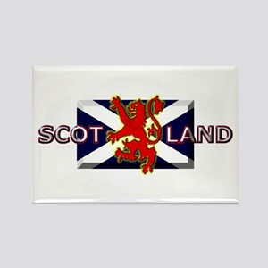 Scotland Football Fashion Rectangle Magnet (10 pac