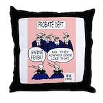 Estates lawyer's Throw Pillow