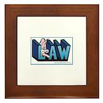 Estates lawyer's Framed Tile
