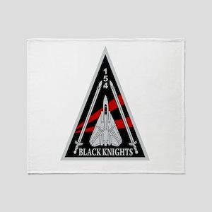 VF-154 Black Knights Throw Blanket