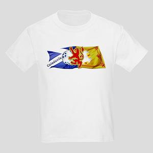 Scotland Football Fashion Kids Light T-Shirt