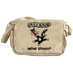 Stressed Cat Messenger Bag