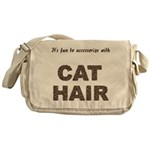 Accessorize With Cat Hair Messenger Bag