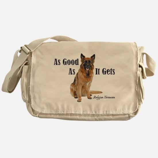 Good Belgian Tervuren Messenger Bag