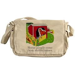Horse People Messenger Bag