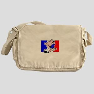 France Soccer Pigs Messenger Bag