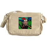 Christmas Stress Messenger Bag