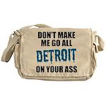 Detroit Football Messenger Bag