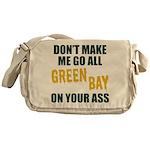 Green Bay Football Messenger Bag