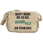 Jacksonville Football Messenger Bag