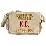 Kansas City Football Messenger Bag