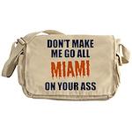 Miami Football Messenger Bag