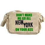 New York Football Messenger Bag