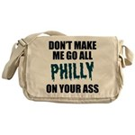 Philadelphia Football Messenger Bag