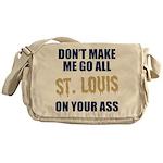 St. Louis Football Messenger Bag
