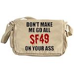 San Francisco Football Messenger Bag