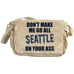 Seattle Football Messenger Bag