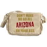 Arizona Baseball Messenger Bag