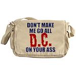 Washington Baseball Messenger Bag