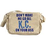 Kansas City Baseball Messenger Bag