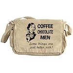 Coffee, Chocolate, Men Messenger Bag