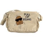 Full Of Beans Messenger Bag
