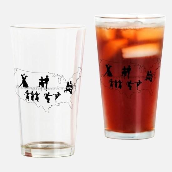 DancingInAmerica.com Drinking Glass