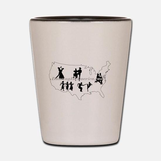 DancingInAmerica.com Shot Glass