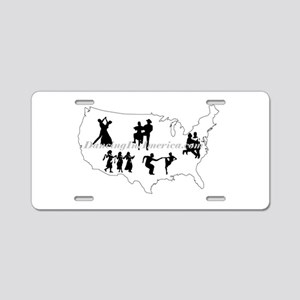 DancingInAmerica.com Aluminum License Plate
