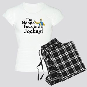 Fuck a Jockey Women's Light Pajamas