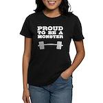 Lift like a MONSTAR Women's Dark T-Shirt