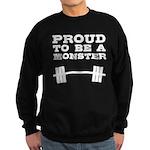 Lift like a MONSTAR Sweatshirt (dark)