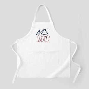 MS Sucks BBQ Apron