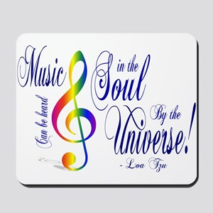 Music in the Soul Mousepad