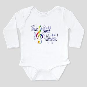 Music in the Soul Long Sleeve Infant Bodysuit