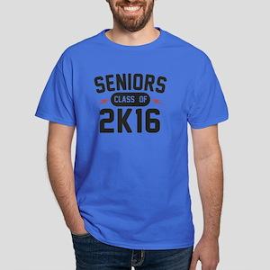 Class of 2K16 Seniors Dark T-Shirt