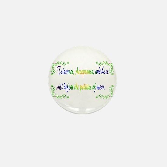 Tolerance Mini Button