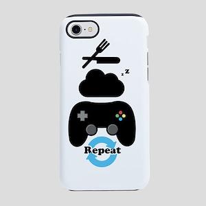 Eat, Sleep, Game, Repeat iPhone 7 Tough Case