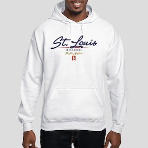 St. Louis Script Hooded Sweatshirt