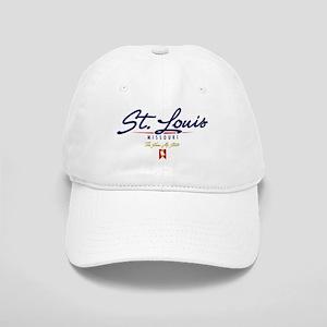 St. Louis Script Cap